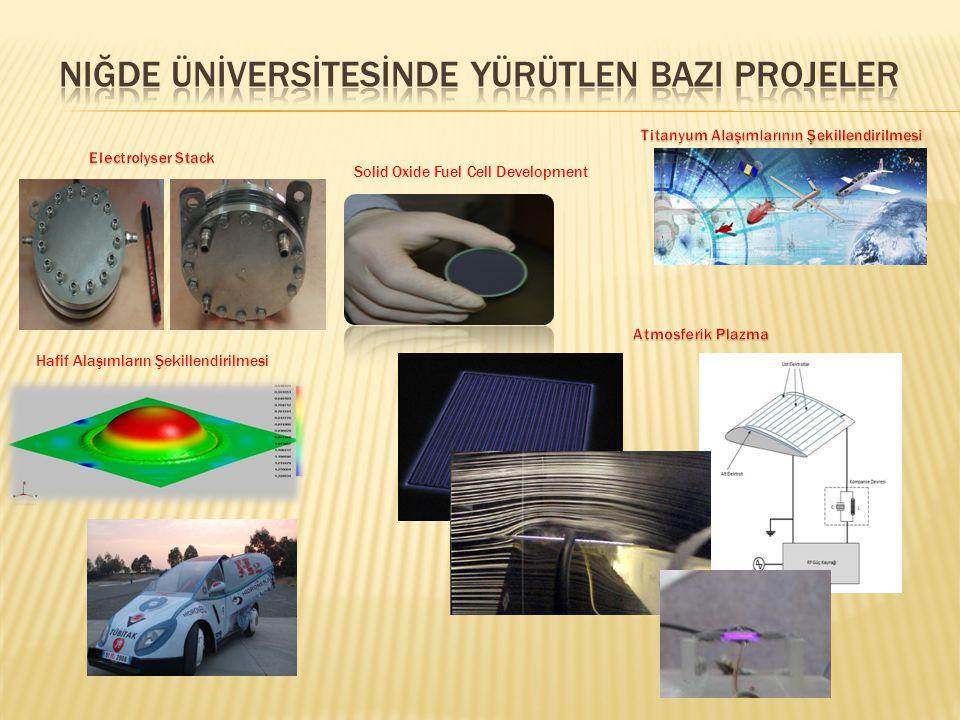 Solid Oxide Fuel Cell Development Hafif Alaşımların Şekillendirilmesi