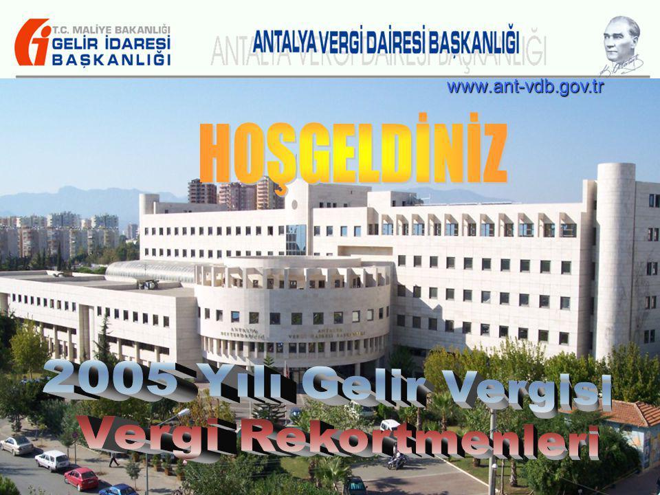12 www.ant-vdb.gov.tr