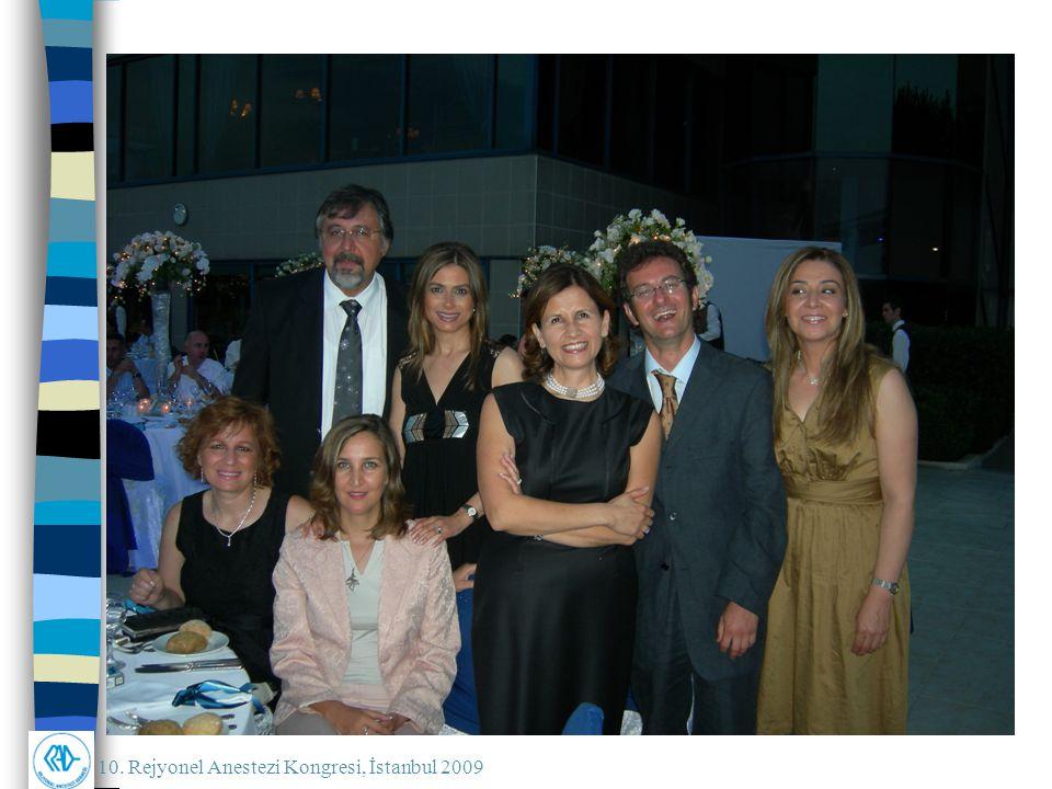 10. Rejyonel Anestezi Kongresi, İstanbul 2009