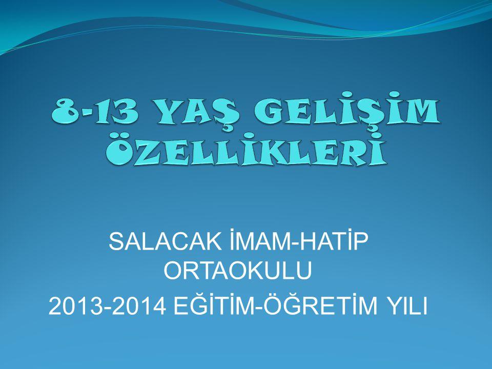 SALACAK İMAM-HATİP ORTAOKULU 2013-2014 EĞİTİM-ÖĞRETİM YILI
