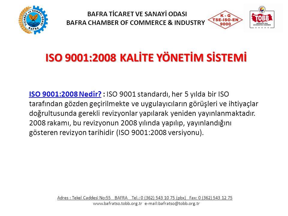 ISO 9001:2008 KALİTE YÖNETİM SİSTEMİ ISO 9001:2008 Nedir?ISO 9001:2008 Nedir? : ISO 9001 standardı, her 5 yılda bir ISO tarafından gözden geçirilmekte