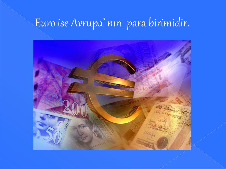 Dolar, Amerika' nın para birimidir.
