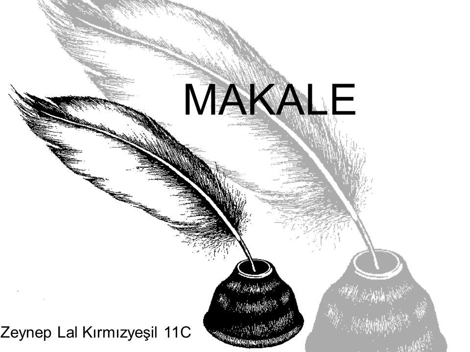 MAKALE Zeynep Lal Kırmızyeşil 11C