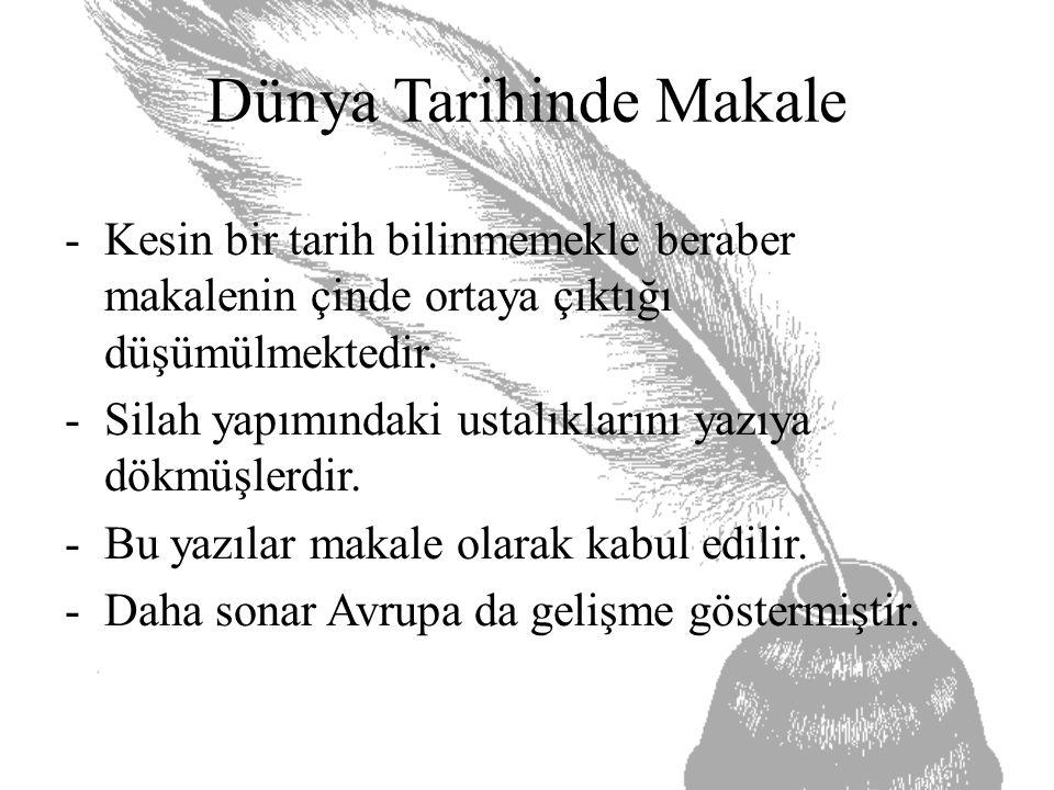 Yazarın Amacı: Bu makalede Namık Kemal'in asıl amacı İstanbul'daki bozuklukların temel nedenini açıklamaktır.