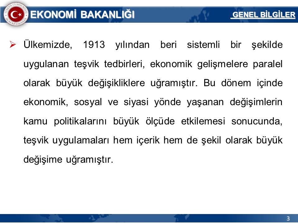 64 EKONOMİ BAKANLIĞI 20.06.2012 – 30.04.2013 Dönemine İlişkin İstatistikler 20.06.2012- 30.04.2013 Tarihleri Arasında 5.