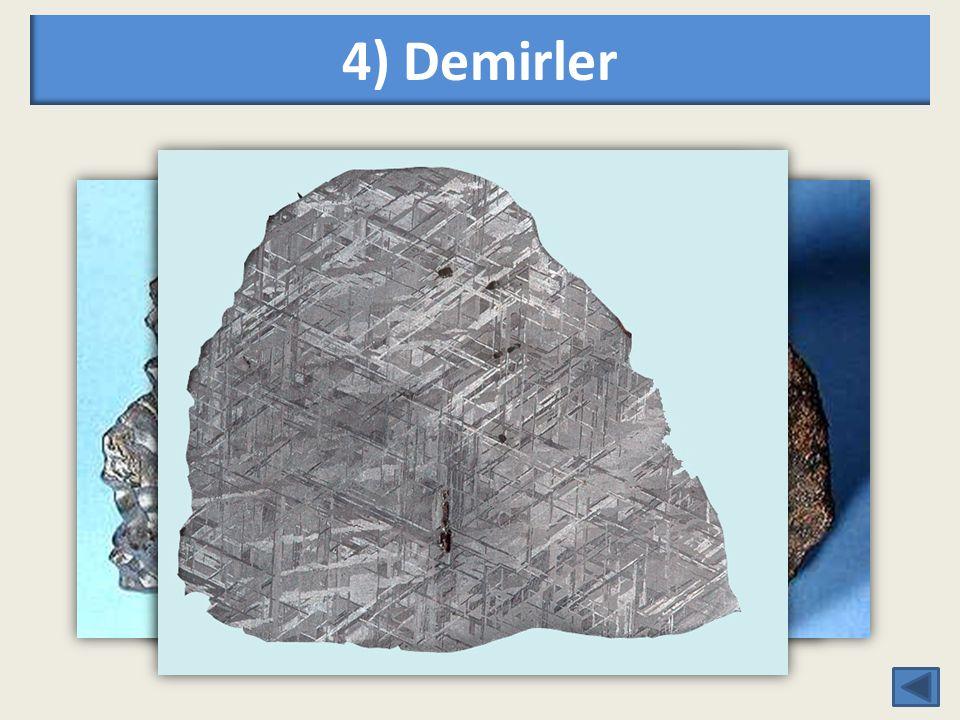4) Demirler