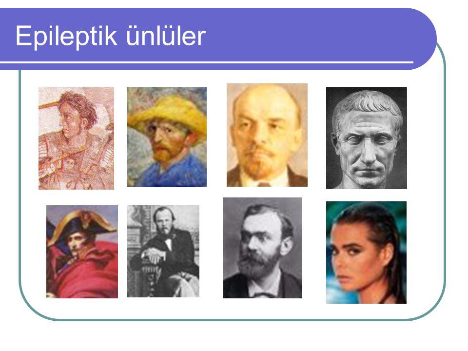Epileptik ünlüler