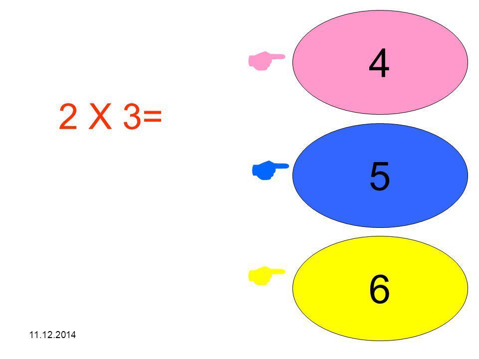 11.12.2014    8 6 10 4 X 2= işleminin sonucunu seçiniz.