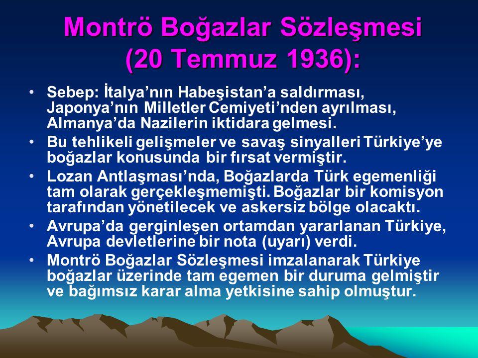 Balkan Antantı (9 Şubat 1934): Balkan Antantı (9 Şubat 1934): Güçlenen Almanya ve İtalya'nın dünya barışını tehdit eden yayılmacı emelleri ve silahlan