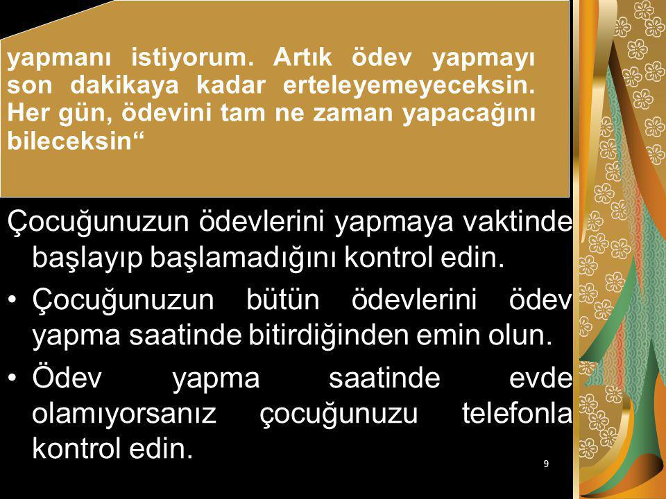 49 ÇOCUĞUNUZUN SINAVLARA HAZIRLANMASINI NASIL ÖĞRETEBİLİRSİNİZ.