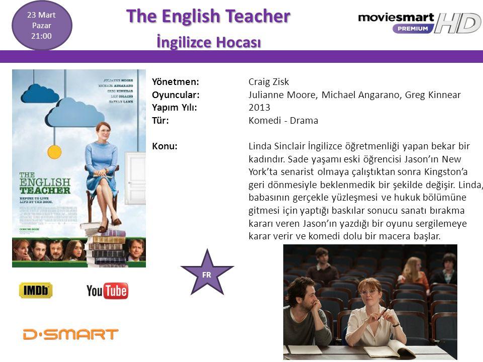 The English Teacher The English Teacher İngilizce Hocası İngilizce Hocası Yönetmen: Craig Zisk Oyuncular: Julianne Moore, Michael Angarano, Greg Kinne