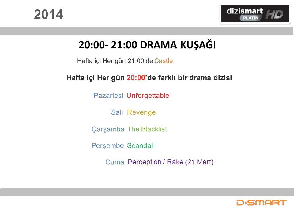 2014 20:00- 21:00 DRAMA KUŞAĞI
