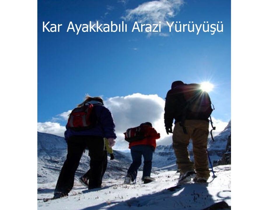 Kar Ayakkabılı Arazi Yürüyüşü