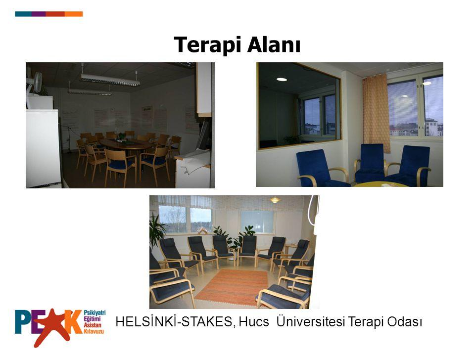 Terapi Alanı HELSİNKİ-STAKES, Hucs Üniversitesi Terapi Odası