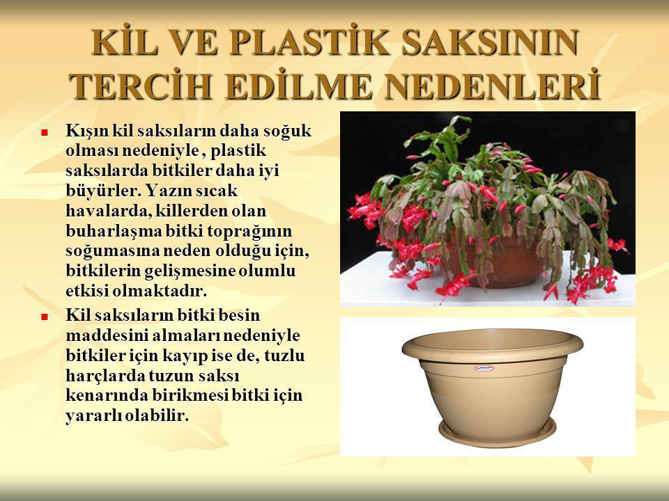 SICAKLIK İç mekân bitkileri, gün boyunca 18-22 derece, gece de 10-18 derecelik sıcaklığa ihtiyaç duyarlar.