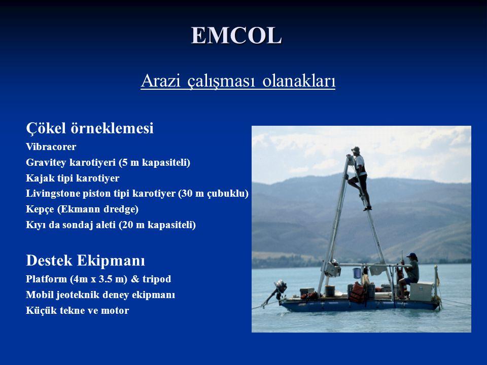 EMCOL Itrax (XRF) Core Scanner Multi-Sensor Core Logger Karot Analiz Laboratuvarı