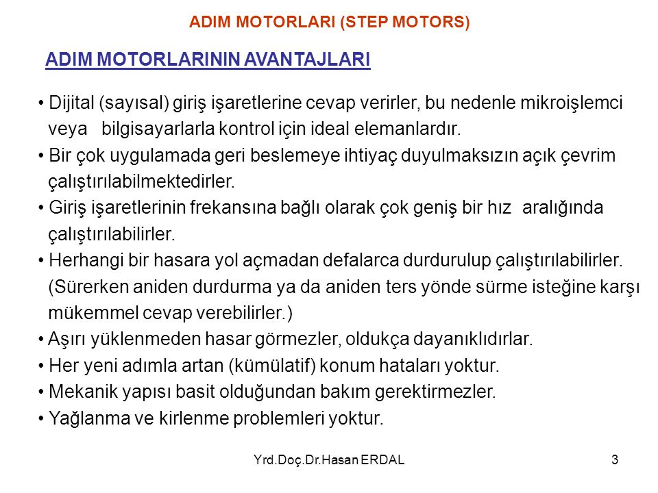 Yrd.Doç.Dr.Hasan ERDAL64