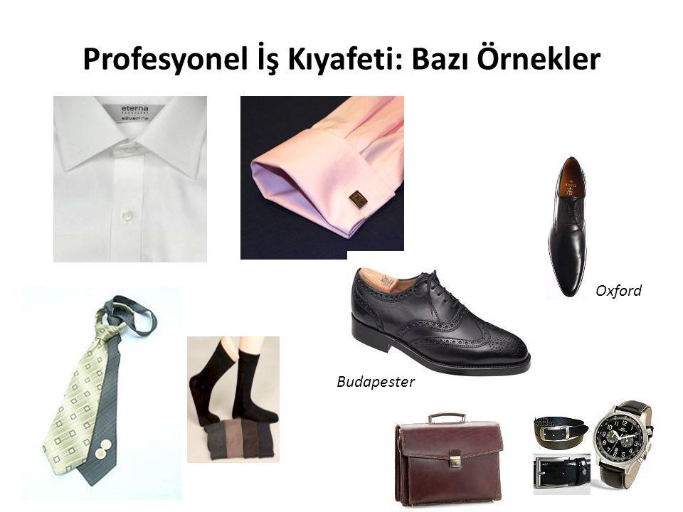 Profesyonel İş Kıyafeti: Bazı Örnekler Oxford Budapester