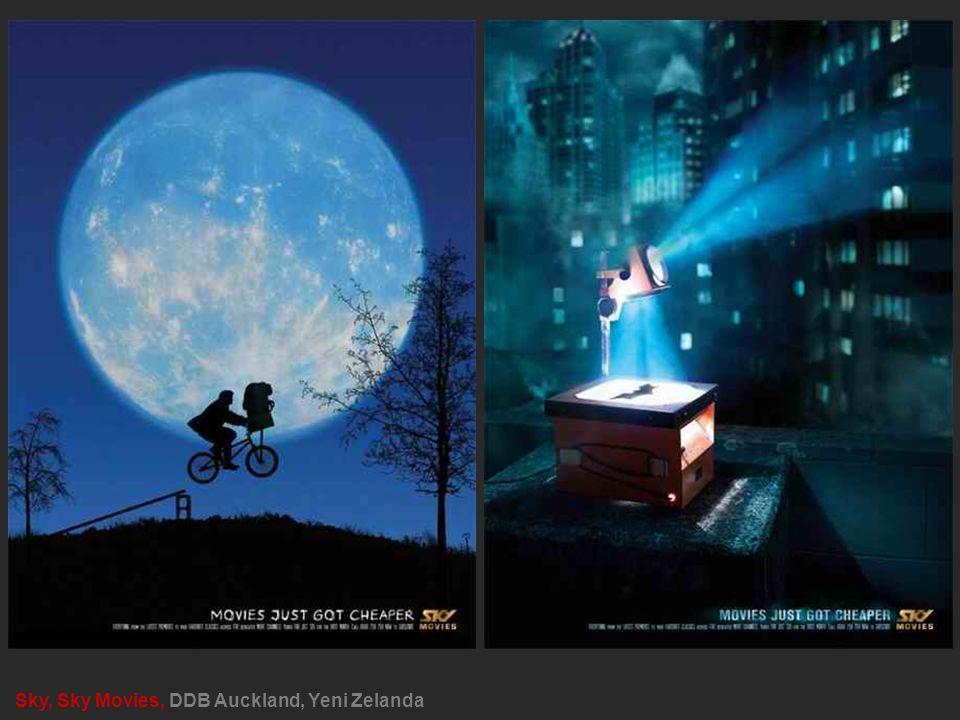 Sky, Sky Movies, DDB Auckland, Yeni Zelanda