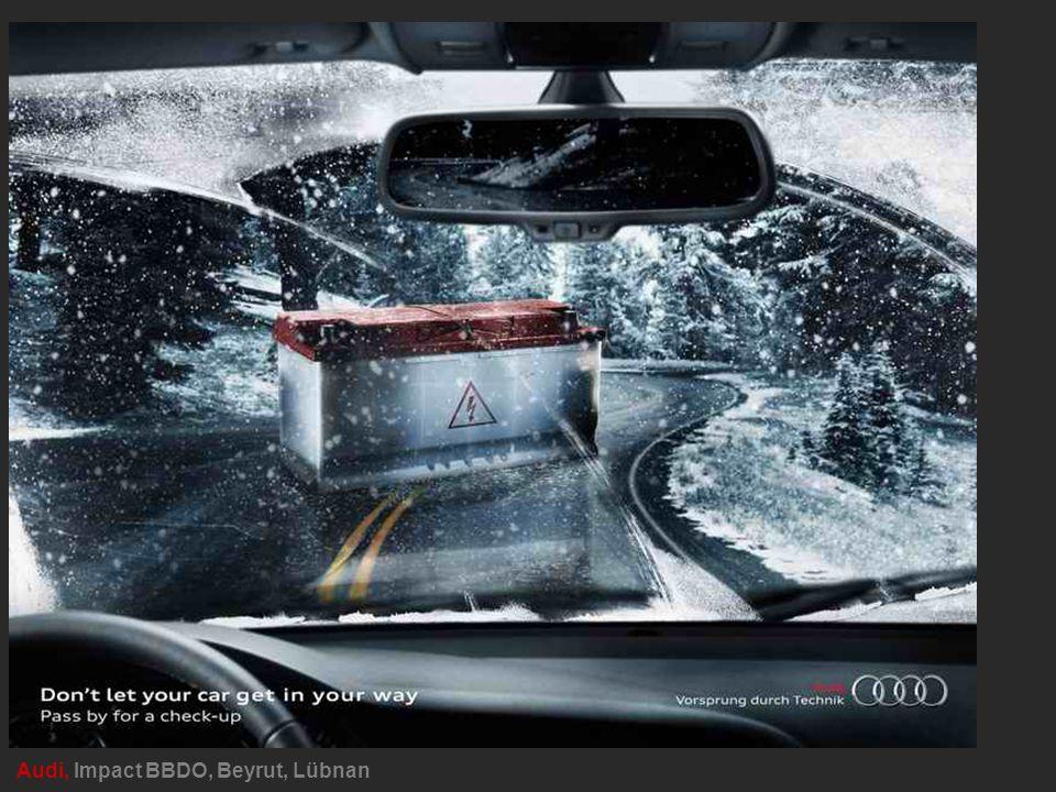Audi, Impact BBDO, Beyrut, Lübnan