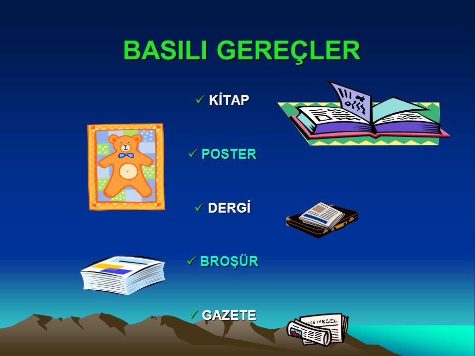 KİTAP KİTAP POSTER POSTER DERGİ DERGİ BROŞÜR BROŞÜR GAZETE GAZETE BASILI GEREÇLER