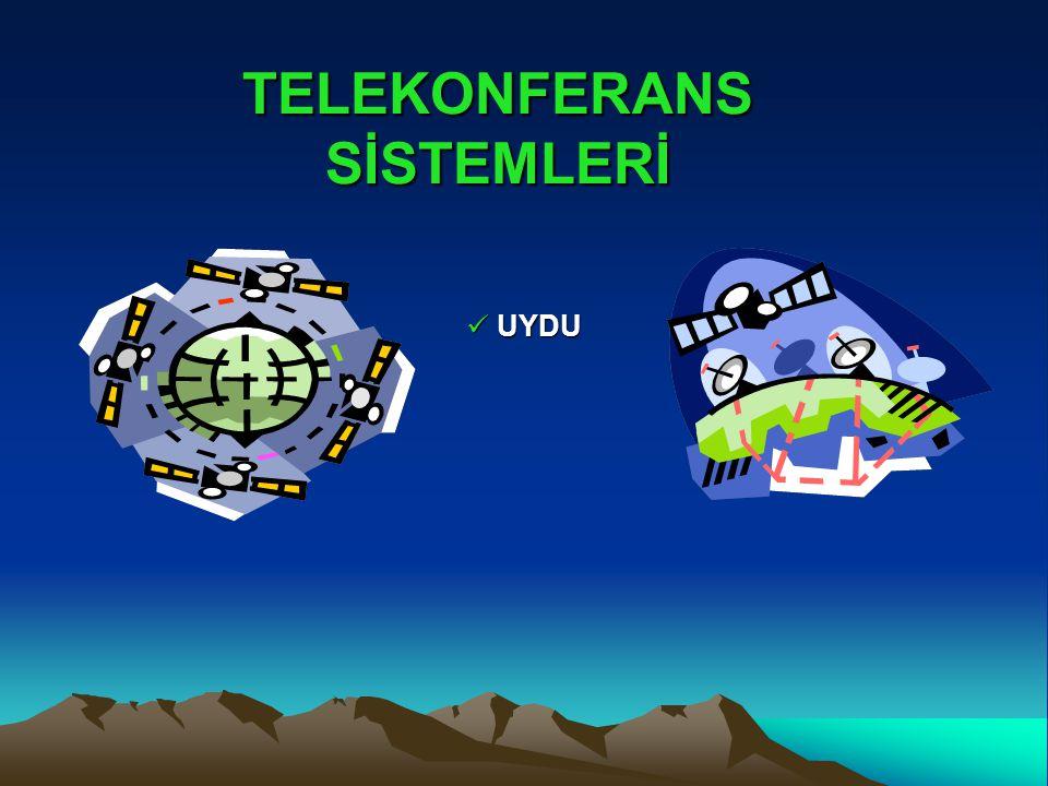 TELEKONFERANS SİSTEMLERİ UYDU UYDU