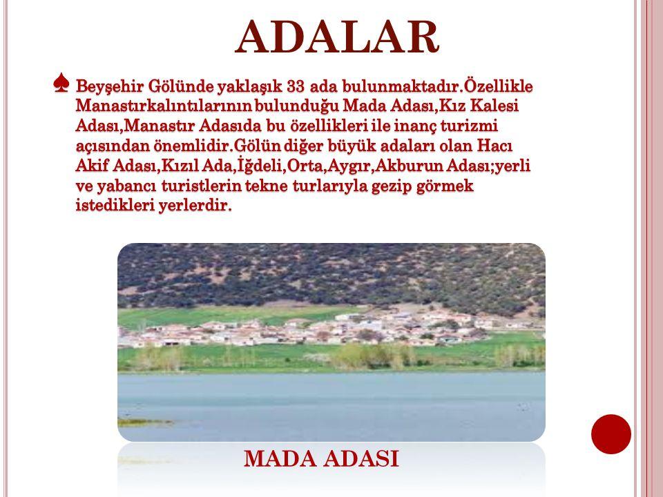 ADALAR MADA ADASI