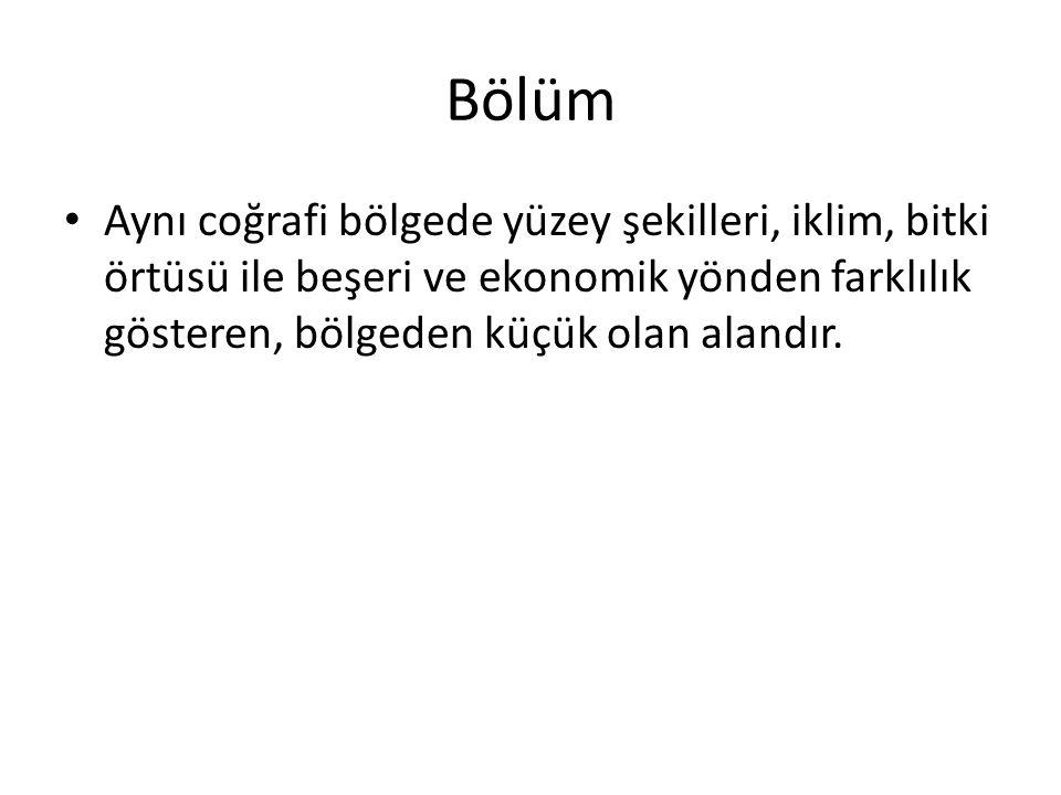 Marmara Denizi Miosen Denizi'nin (Sarmatlar)bir kalıntısı durumunda olan Marmara Denizi küçük bir iç deniz niteliğindedir.