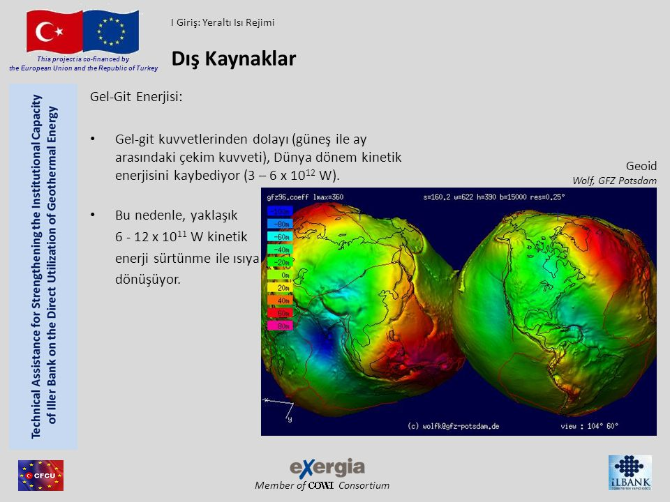 Member of Consortium This project is co-financed by the European Union and the Republic of Turkey EnEV 2009 I Giriş: Siyasal ve Çevresel Yönleri