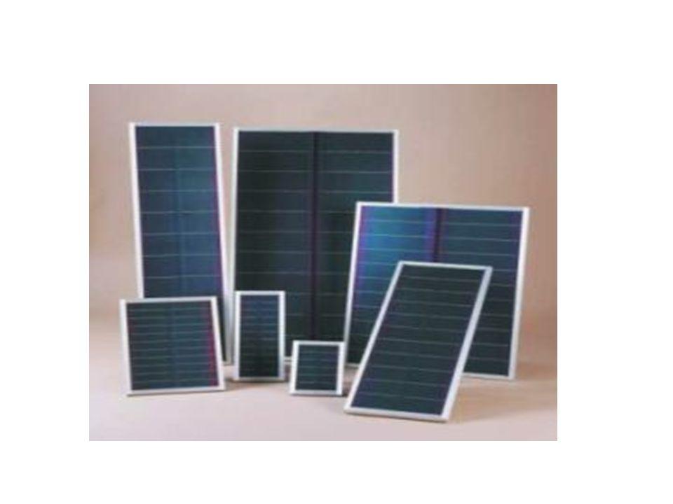 Güç çıkışını artırmak amacıyla çok sayıda güneş pili birbirine paralel yada seri bağlanarak bir yüzey üzerine monte edilir, bu yapıya güneş pili modülü ya da fotovoltaik modül adı verilir.
