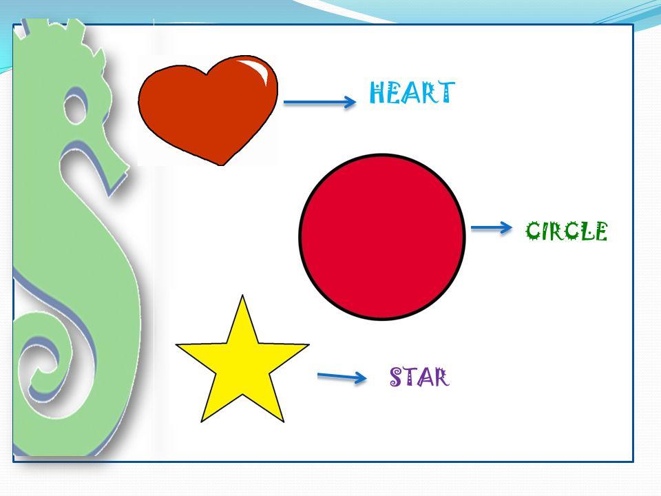 HEART CIRCLE STAR
