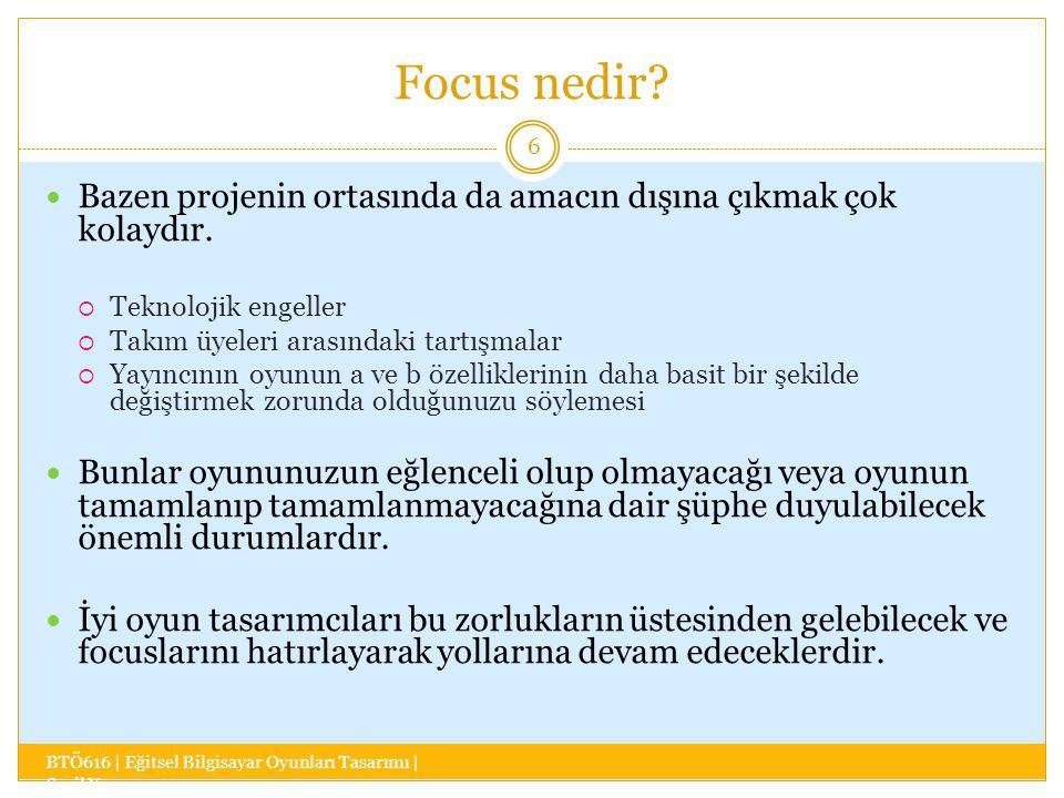 Focus nedir.