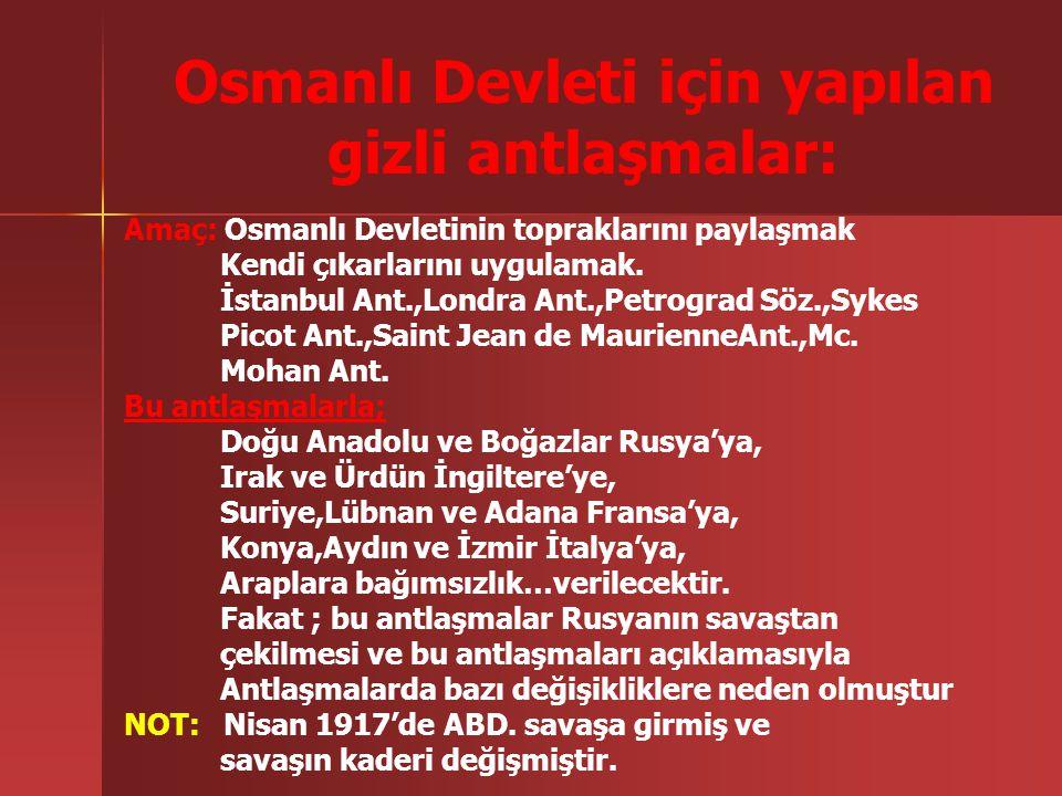 b)Irak Cephesi: İngilizler tarafından açılmıştır. Bu cephede Türk kuvvetleri bir müddet başarılı olduysada (Kütulamare başarısı)daha sonra Osmanlı ord