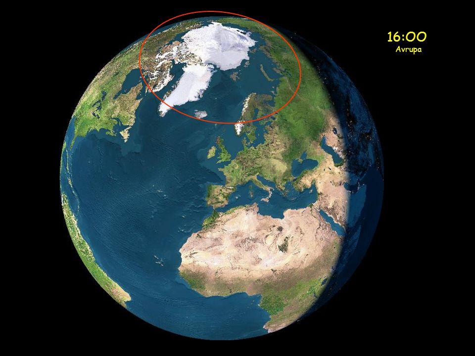 Gece yarısı güneşi, 17-24 Haziran tarihlerinde Laponya'da görülebilir.