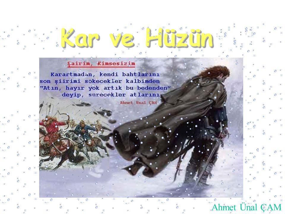Kar ve Hüzün Kar ve Hüzün Ahmet Ünal ÇAM