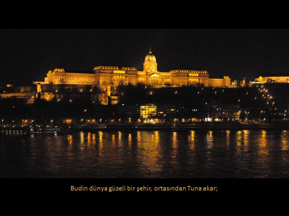 Şimdiki tarihi kale içinde bulunan Budin, zamanla dar gelmeye başlayınca, Macarlar Tuna'nın karşı kıyısında Peşte'yi kurmuş ve iki şehir köprülerle birbirine bağlandığında Budapeşte doğmuş.