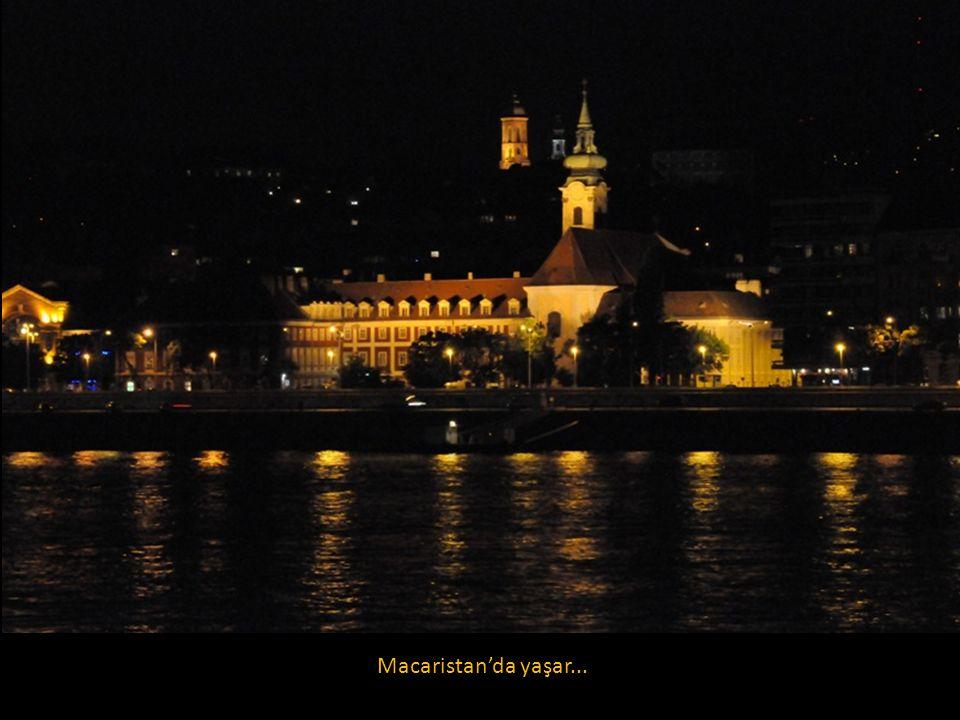 Macaristan'da yaşar...