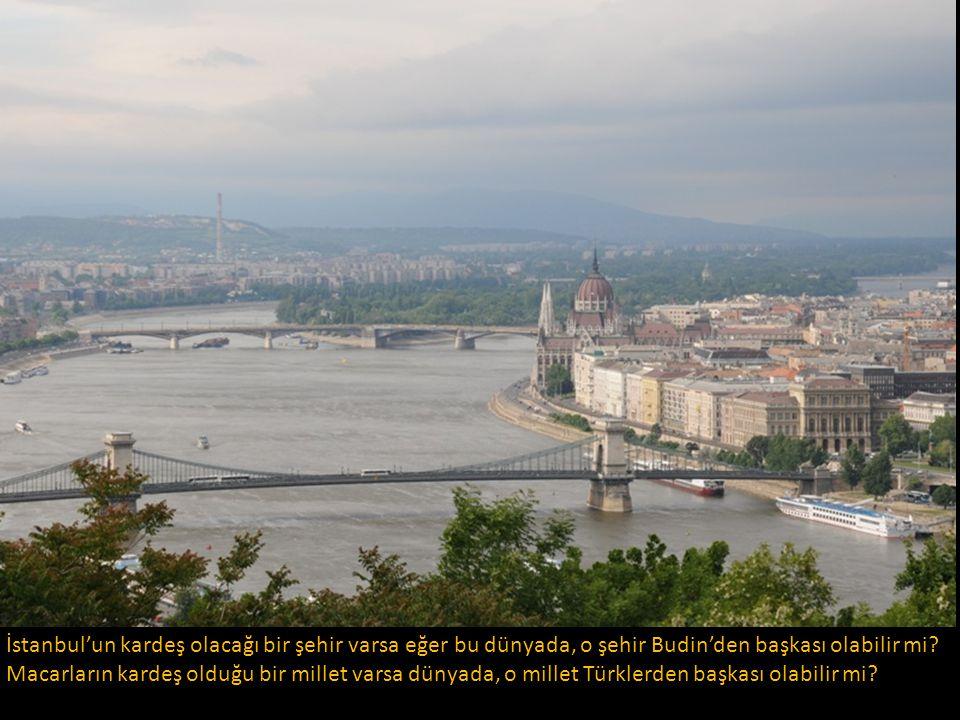 Özgürlük Anıtı Tepesinden Budapeşte