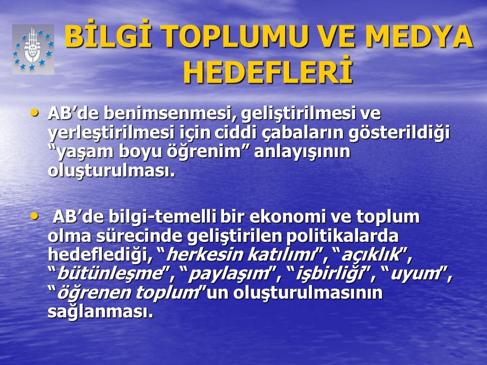 e-Dönüşüm Türkiye Projesi Amaçlar (1) Bilgi ve iletişim teknolojileri politikaları ve mevzuatının düzenlenerek e-Avrupa+ eylem planının ülkemize uyarlanması, Bilgi ve iletişim teknolojileri politikaları ve mevzuatının düzenlenerek e-Avrupa+ eylem planının ülkemize uyarlanması, Vatandaşın, bilgi ve iletişim teknolojileri yardımıyla, kamusal alandaki karar alma süreçlerine katılımını sağlayacak mekanizmaların geliştirilmesi, Vatandaşın, bilgi ve iletişim teknolojileri yardımıyla, kamusal alandaki karar alma süreçlerine katılımını sağlayacak mekanizmaların geliştirilmesi, Kamu idaresinin, şeffaf ve hesap verebilir hale getirilmesine katkıda bulunulması, Kamu idaresinin, şeffaf ve hesap verebilir hale getirilmesine katkıda bulunulması, Kamu hizmetlerinin sunumunda, bilgi ve iletişim teknolojilerinden azami ölçüde yararlanılarak iyi yönetişim ilkelerinin hayata geçirilmesine katkıda bulunulması, Kamu hizmetlerinin sunumunda, bilgi ve iletişim teknolojilerinden azami ölçüde yararlanılarak iyi yönetişim ilkelerinin hayata geçirilmesine katkıda bulunulması,