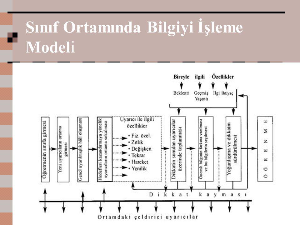 Sınıf Ortamında Bilgiyi İşleme Modeli