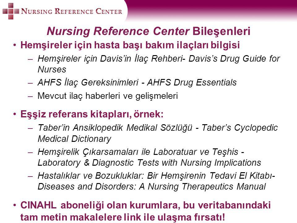 Hemşireler için hasta başı bakım ilaçları bilgisi –Hemşireler için Davis'in İlaç Rehberi- Davis's Drug Guide for Nurses –AHFS İlaç Gereksinimleri - AH