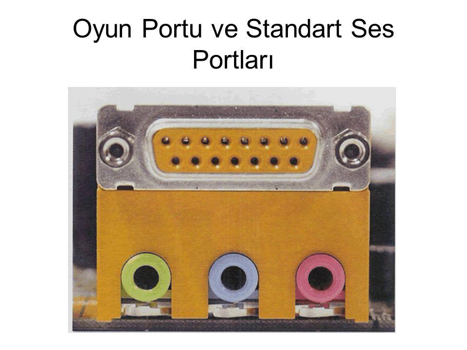Oyun Portu ve Standart Ses Portları