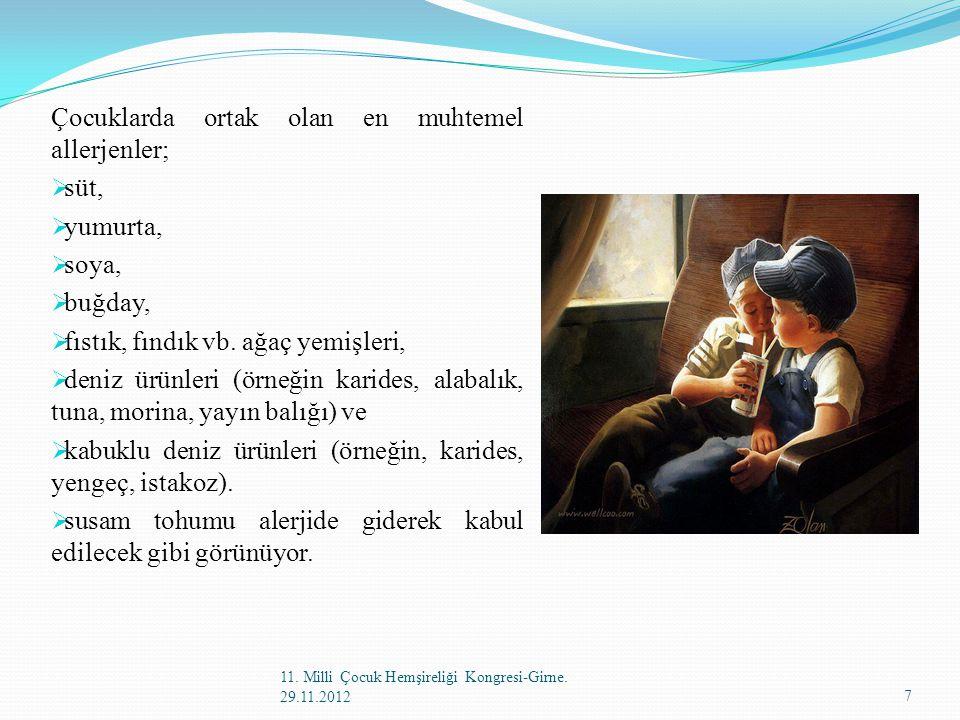 11. Milli Çocuk Hemşireliği Kongresi-Girne. 29.11.201278