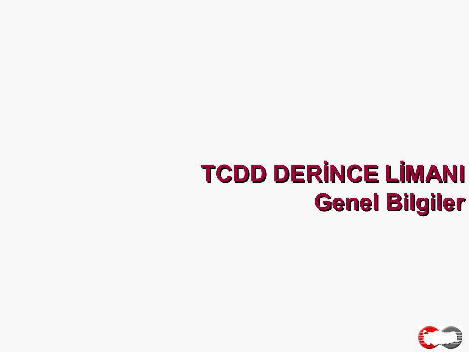 TCDD DERİNCE LİMANI Genel Bilgiler
