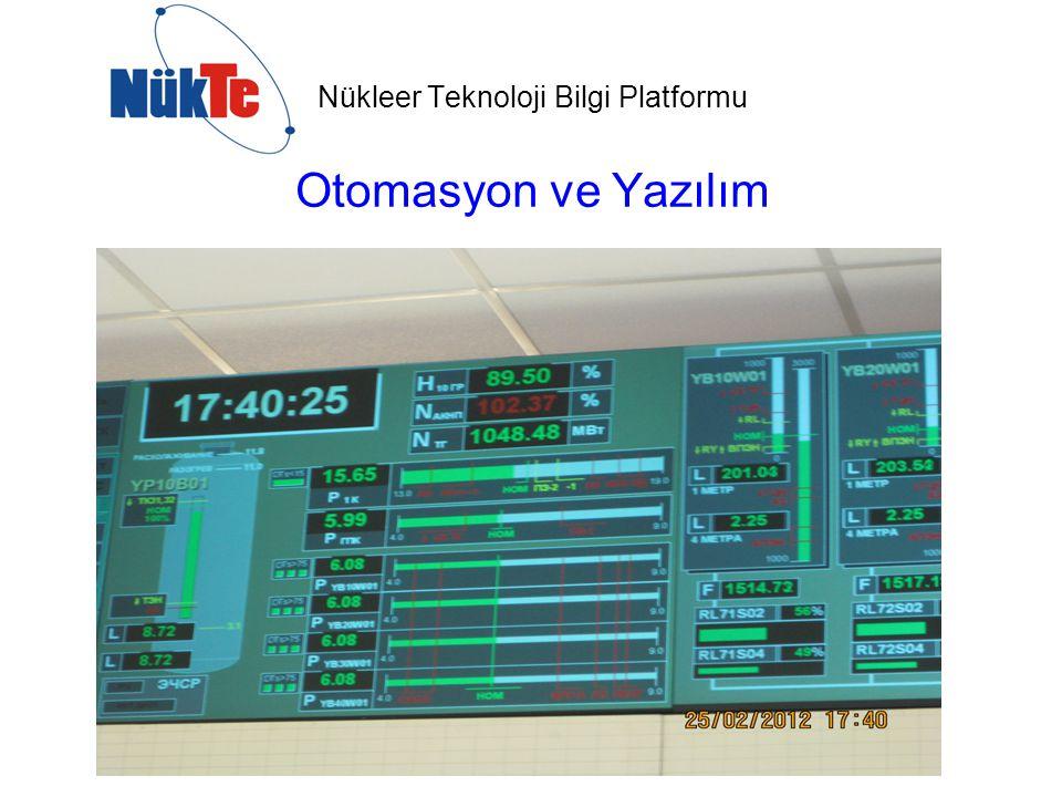 Nükleer Teknoloji Bilgi Platformu Otomasyon ve Yazılım