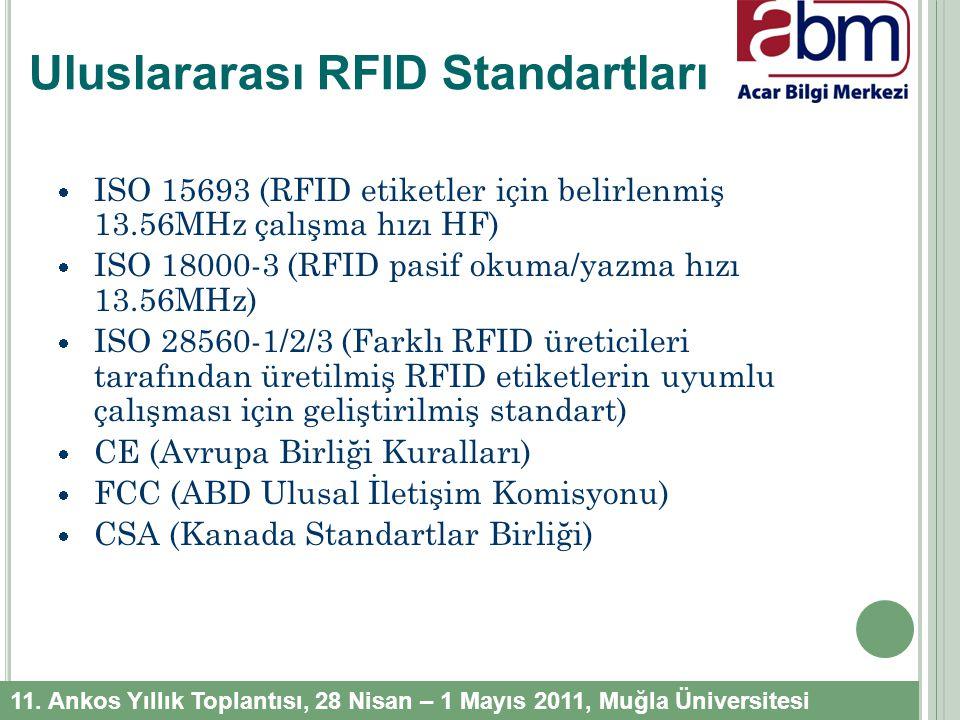 National Information Standards Organization (NISO)'nun RFID Teknolojisinin Kütüphanelerde Uygulanması Komite Başkanı Dr.