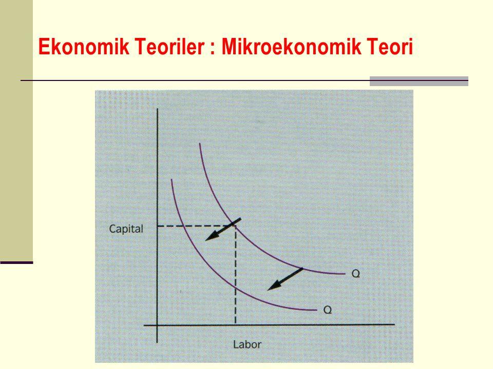Ekonomik Teoriler : Mikroekonomik Teori