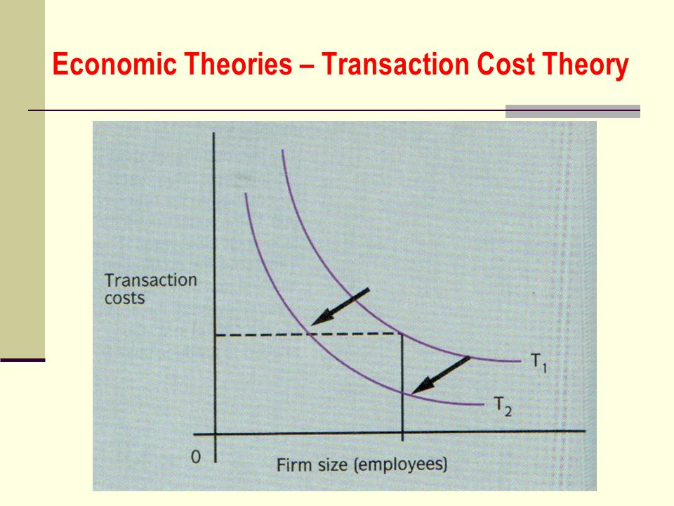 Economic Theories – Transaction Cost Theory