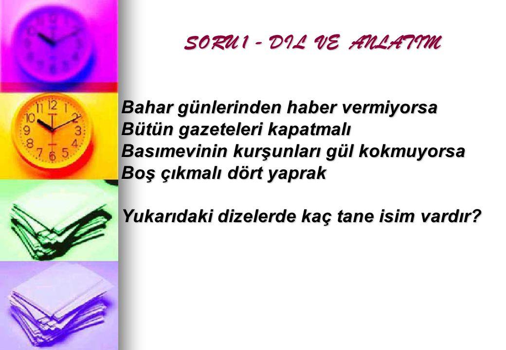CEVAP: 8
