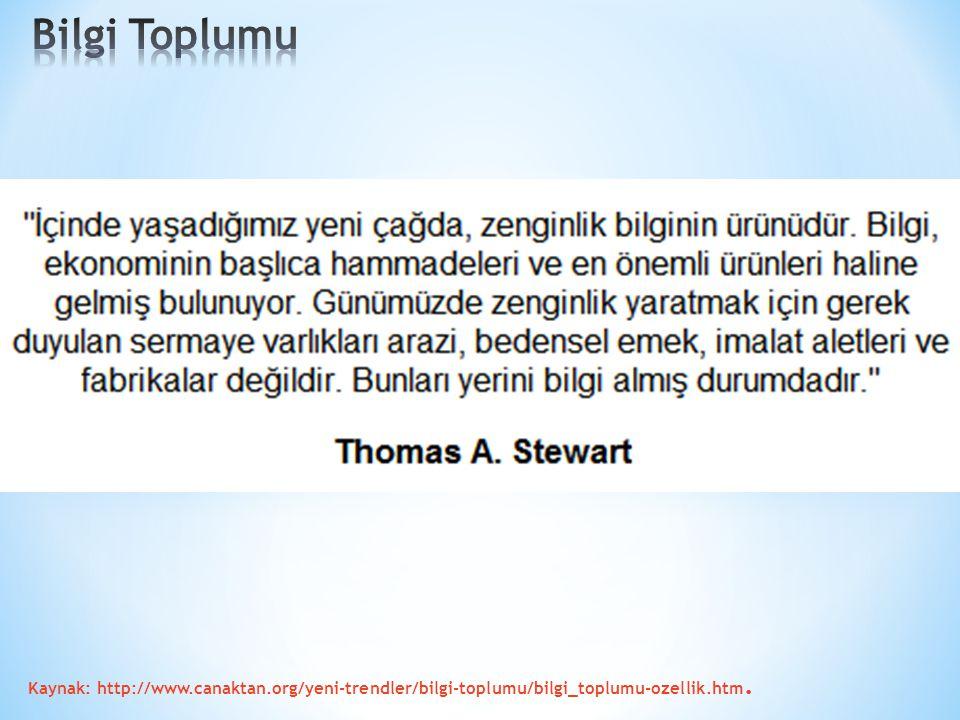 Kaynak: http://www.canaktan.org/yeni-trendler/bilgi-toplumu/bilgi_toplumu-ozellik.htm.